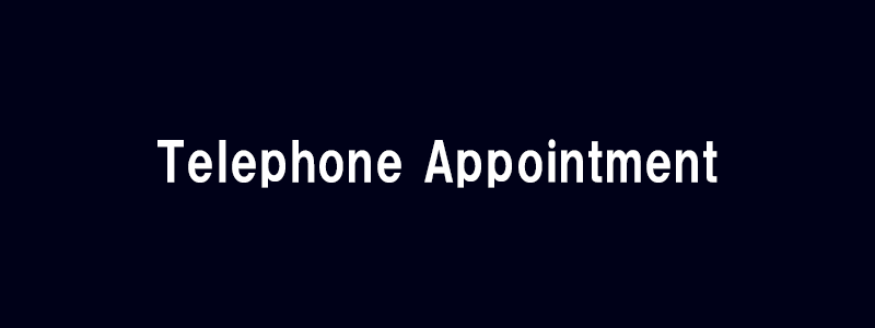 Telephone Appointment